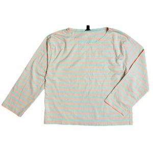 J.Crew for the Long-sleeve striped crewneck Tshirt